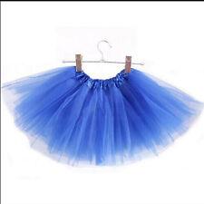 Princess Tutu Skirt Girls Kids Party Ballet Dance Wear Dress Pettiskirt Costumes