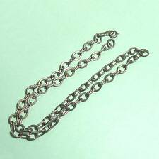"""Sterling silver chain necklace 18"""" B34"""