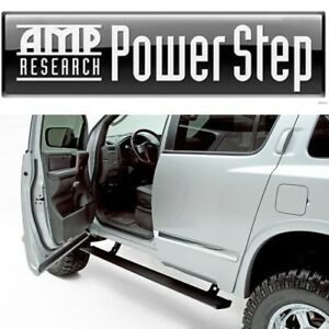 AMP Research Power Retracting Side Steps Running Boards for 04-15 Nissan Armada