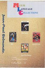 Jean-Paul Belmondo. Collection 4. Multilanguage Collection. 4 movies. 2 DVD Set