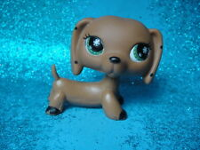ORIGINAL Littlest Pet Shop No # Monopoly Dachshund  Shipping with Polish
