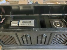 Vintage Record Player/8 Track and stereo Cabinet