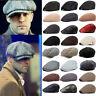 Herren Schiebermütze Flatcap Newsboy Gatsby Hut Barett Mützen Vintage Sommer Cap