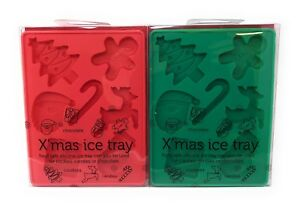Wholesale Job Lot of 12 x Christmas Ice Tray Novelty Chocolate Silicone Moulds