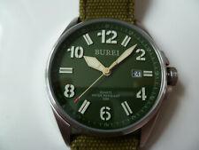 Watch BUREI Military Field Watch Olive - Precision Quartz Miyota Japan