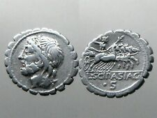 CORNELIA 24 SILVER DENARIUS___Roman Republic___SON OF THE GREAT SCIPIO AFRICANUS