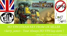 Warhammer Space Wolf Steam key no VPN Region Free UK Verkäufer