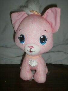 Fisher-Price Doodle Bears Pets Babies Pink Kitty Cat Plush