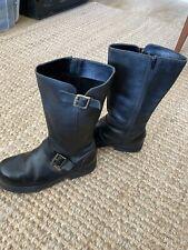 Rocket Dog Originals Leather Biker Boots Size 7