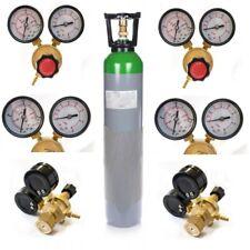Argon/Co2 Mix Gas Bottle Cylinder 1.8m3 8L 150~180Bar MIG TIG Weld+Gas Regulator
