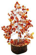Carnelian Money  Tree Reiki Spiritual Feng Shui Gemstones Vastu Table Decor
