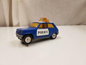 Jouef - Renault 5 Police - Voiture de Circuit Électrique