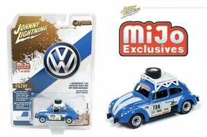 Johnny Lightning 1970 VW VOLKSWAGEN OFF ROAD BEETLE Blue, MIJO EXCLUSIVE 1/2400