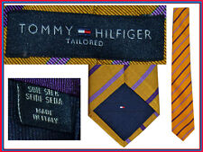 Tommy hilfiger men tie 100% silk retail 75! here for less! to05 n0p