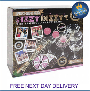 20PC PROSECCO FIZZY DIZZY PARTY GAME DRINKING PING PONG GLASS BALL XMAS FUN NEW