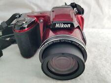 Nikon CoolPix L810 16.1 million Red Digital Camera.
