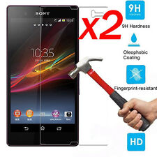 2X  9H Tempered Glass Film Screen Protector Guard For Sony Xperia Z3