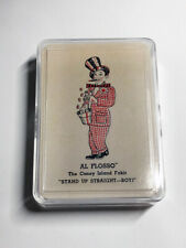 Al Flosso Throw-Out Card Playing Cards / Collectible Magic Playing Cards