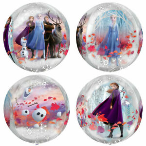 Frozen 2 ORBZ Balloon Girls Birthday Party Decoration Supply Beach Ball 4 Sided