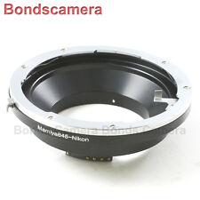 AF Confirm Mamiya 645 AF Lens to Nikon F Mount Adapter D750 D800 D5200 D7100