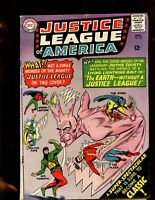 JUSTICE LEAGUE OF AMERICA #37 (4.0) EARTH WITHOUT THE JUSTICE LEAGUE!