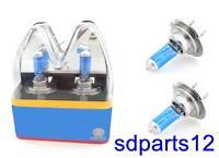 2 X H7 HID Ampoules Xénon Halogène Lampe 100W 7500K 12V Super Blanc Voiture