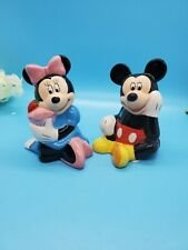 Mickey & Minnie Mouse Salt & Pepper Shakers Never Used