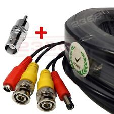 Premium Quality 200 Feet Video Power BNC RCA Cable for Swann CCTV Cameras