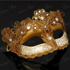 Toga Party Special - Venetian Goddess Masquerade Mask Made of Resin [Gold]