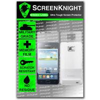 ScreenKnight Samsung Galaxy S2 FULL BODY SCREEN PROTECTOR invisible shield