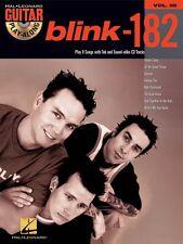 blink-182 Sheet Music Guitar Play-Along Book and CD NEW 000699772