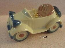 Lladro Little Roadster Ornament Santa's Workshop New Box $145