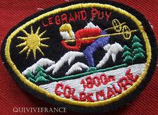 SK1159 - PATCH SKI LE GRAND PUY - COL DE MAURE 1800m