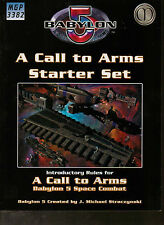 BABYLON 5 A CALL TO ARMS Starter Set - Space Combat - Introductory Rules Book