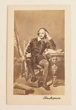 CDV William Shakespeare - Carte de Visite - Kunstbild
