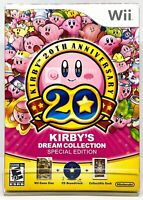 Kirby's Dream Collection Special Edition 20th Anniversary - Nintendo Wii - New