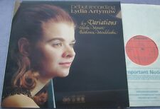 LYDIA ARTYMIW Piano Debut Recording NEAR MINT UK CHANDOS Haydn Mozart et al