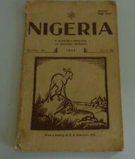 NIGERIA Quarterly Magazine Special War Issue #22 1944 (Hospiscare)