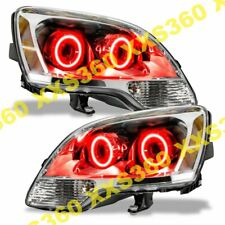 ORACLE Halo 2x HEADLIGHTS for GMC Acadia 08-12 RED LED Angel Eyes