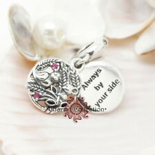 Pandora Always By Your Side Bird & Mouse Pendant  S925, Charm, NEW,  797671CZRM