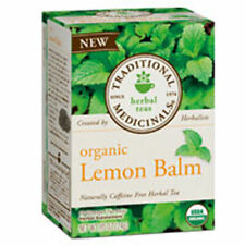Organic Lemon Balm Tea 16 BAGS