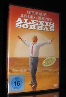 DVD ALEXIS SORBAS - ANTHONY QUINN + ALAN BATES + IRENE PAPAS ** NEU ***