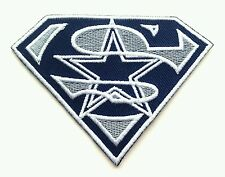 """Dallas Cowboys Star 3.5"""" Sports Logo Embroidered Iron Or Sew On Patch"""