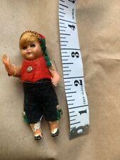 Vintage Tiny Collection Doll. Boy 3� German Austrian