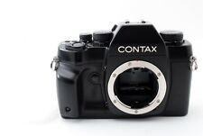 Contax RX Black 35mm SLR Film Camera Body w/ Data back [Near Mint] by FedEx