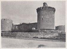 E1210 Venosa (PZ) - Il Castello - 1930 Stampa epoca - Vintage print