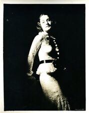 "Norma Shearer by by George Hurrell 1934 Original 8x10"" Photo #M9415"