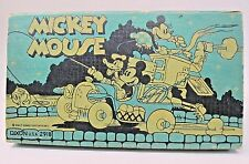circa 1935 Dixon MICKEY MOUSE DONALD DUCK & MINNIE FISHING CAMPER Pencil Box
