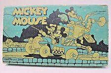circa 1935 Dixon MICKEY MOUSE DONALD DUCK & MINNIE FISHING CAMPER Pencil Box