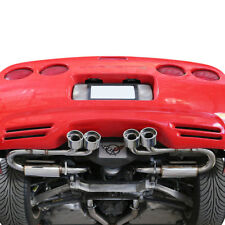 "4.25""Quad Oval Tip Stainless Catback Exhaust for 1997-2004 Chevy Corvette C5/Z06"